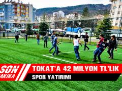 Tokat'a 42 Milyon TL'lik Spor Yatırımı